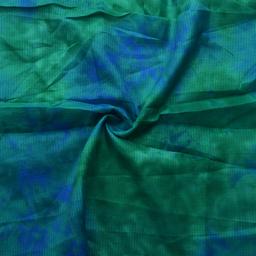Green and Blue Kota Doria Fabric-25060