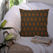 Green and Yellow Cotton Cushion Cover-35011