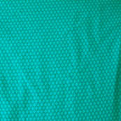 Green dotted silk brocade fabric-4605