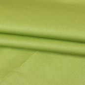 Light Green Plain Cotton Silk Fabric-16440