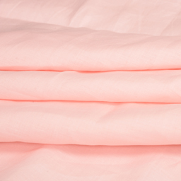 Linen Shirt (1.6 Meter) Fabric- Light Peach Plain-90017