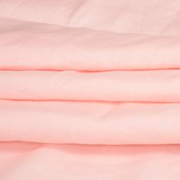 Light Peach Plain Linen Fabric-90017