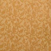 Light Yellow and Golden Floral Pattern Brocade Silk Fabric-1042