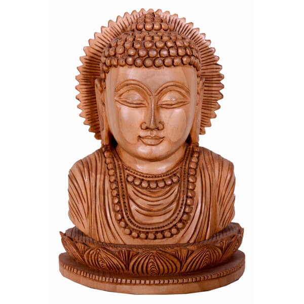 Meditation head of Buddha