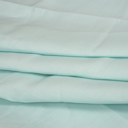Linen Shirt (1.6 Meter) Fabric- Mint Green Plain Indian-90026