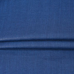NavyBlue Plain Linen Fabric-90141