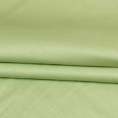 Olive Green Plain Cotton Silk Fabric-16456