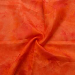 Orange Kota Doria Fabric-25058