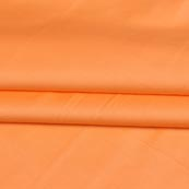 Peach Plain Cotton Silk Fabric-16450