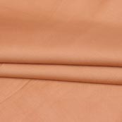 Peach Plain Cotton Silk Fabric-16459