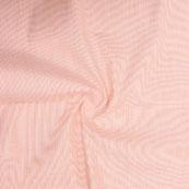 Peach Plain Handloom Khadi Cotton Fabric-40678