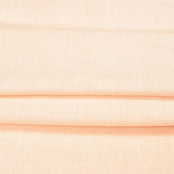 Peach Plain Linen Fabric-90156