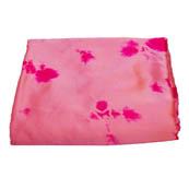 Pink Batik Satin Fabric-32004