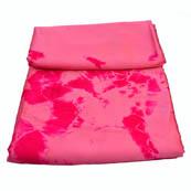 Pink Batik Satin Fabric-32011