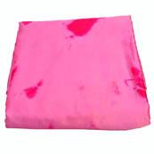 Pink Batik Satin Fabric-32020