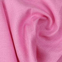 Linen Shirt (1.6 Meter) Fabric- Pink Plain-90036