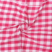 Pink White Striped Handloom Khadi Cotton Fabric-40746