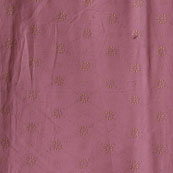 Purple Golden Polka Jam Cotton Fabric-15152