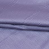 Purple Plain Cotton Silk Fabric-16433