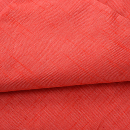 Red Plain Two Ton Linen Fabric-40223