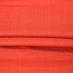Red Plain Linen Fabric-90151