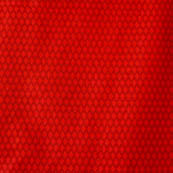 Red dotted silk brocade fabric-4606