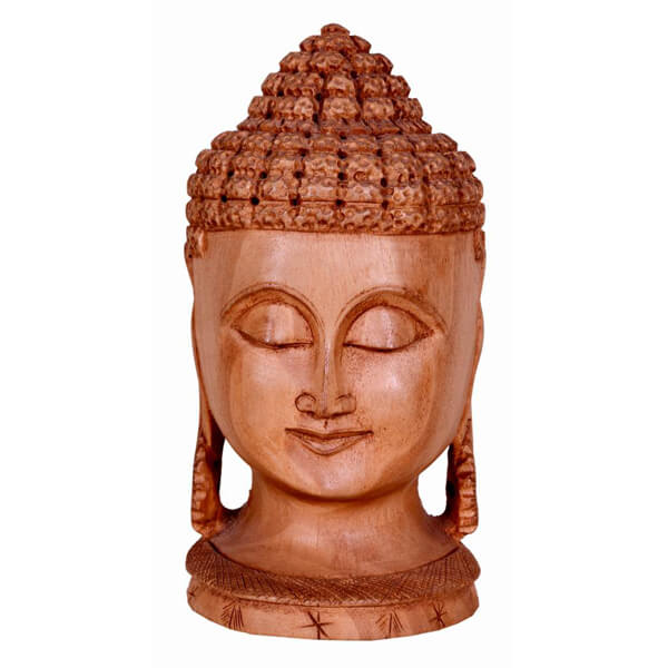 Relaxing head of Budha