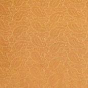 Royal Golden paisley shape brocade silk fabric-4657