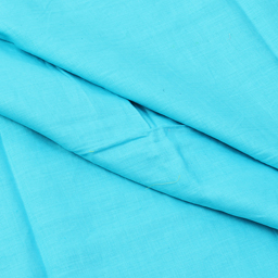 Sky Blue Plain Linen Fabric-SD90030