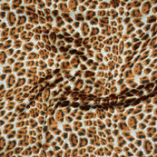 White Brown, Black Japan Satin Fabric-18203