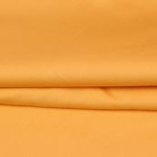 Yellow Plain Cotton Silk Fabric-16464