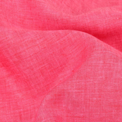 Magenta Pink Plain Indian Linen Fabric-GN90045