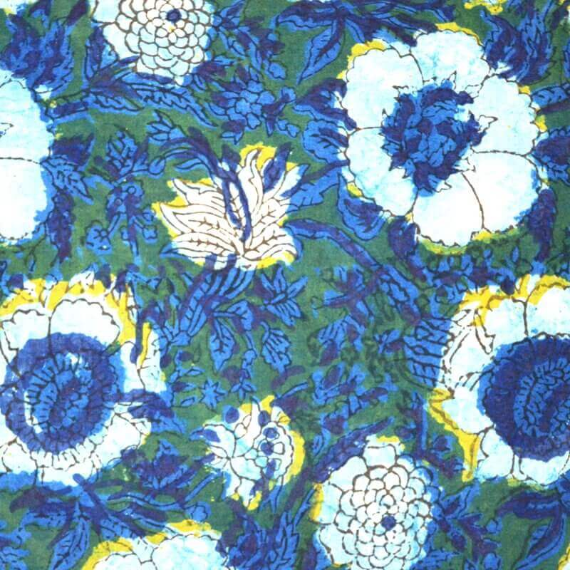 Buy indian cotton fabric by the yard indian cotton fabric for Purchase fabric by the yard